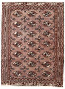Turkaman Koberec 133X175 Orientální Ručně Tkaný Tmavě Červená/Tmavě Hnědá (Vlna, Persie/Írán)