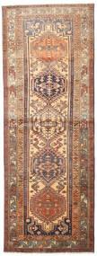 Ardebil Vloerkleed 114X310 Echt Oosters Handgeknoopt Tapijtloper Bruin/Donkerrood (Wol, Perzië/Iran)