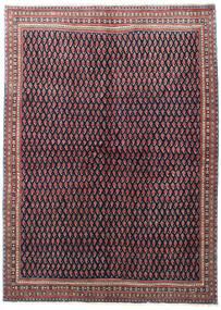 Sarouk Rug 175X245 Authentic  Oriental Handknotted Black/Brown (Wool, Persia/Iran)