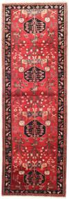 Saveh Tappeto 104X300 Orientale Fatto A Mano Alfombra Pasillo Rosso Scuro/Ruggine/Rosso (Lana, Persia/Iran)