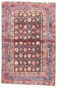 Wiss Koberec 100X152 Orientální Ručně Tkaný Béžová/Světle Růžová (Vlna, Persie/Írán)
