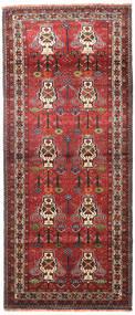 Belouch Alfombra 115X270 Oriental Hecha A Mano Rojo Oscuro/Marrón Oscuro (Lana, Persia/Irán)