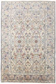 Jazd Dywan 193X290 Orientalny Tkany Ręcznie Jasnoszary/Biały/Creme (Wełna, Persja/Iran)