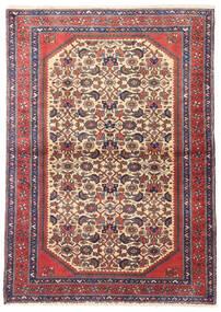 Rudbar Rug 105X145 Authentic  Oriental Handknotted Beige/Brown (Wool, Persia/Iran)