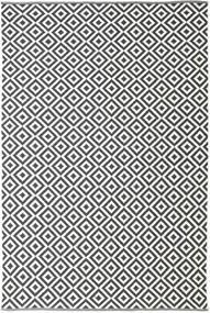 Torun - Black/Neutral Rug 200X300 Authentic  Modern Handwoven Dark Grey/Beige (Cotton, India)