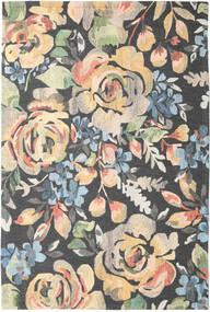 Colette - Multi 絨毯 200X300 モダン 濃いグレー/暗めのベージュ色の (ウール, インド)