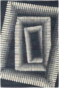 Centric - ナチュラル/紺色の 絨毯 250X350 モダン 紺色の/薄い灰色 大きな (ウール, インド)