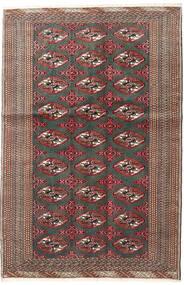 Turkaman Rug 125X190 Authentic  Oriental Handknotted Dark Grey/Dark Red (Wool, Persia/Iran)
