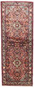 Rudbar Vloerkleed 78X205 Echt Oosters Handgeknoopt Tapijtloper Donkerbruin/Donkerrood (Wol, Perzië/Iran)