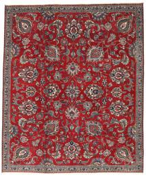 Tabriz Patina Matto 230X275 Itämainen Käsinsolmittu Tummanpunainen/Tummanruskea (Villa, Persia/Iran)
