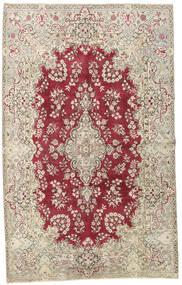 Yazd Patina Matta 195X315 Äkta Orientalisk Handknuten Ljusgrå/Röd (Ull, Persien/Iran)