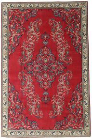 Nadżafabad Patina Dywan 205X315 Orientalny Tkany Ręcznie Ciemnoczerwony/Czerwony (Wełna, Persja/Iran)