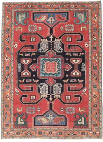 Ardabil Patina Tapis 205X280 D'orient Fait Main Marron Foncé/Gris Foncé (Laine, Perse/Iran)
