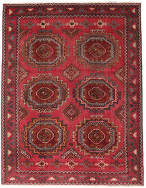 Baluch Patina Rug 215X275 Authentic  Oriental Handknotted Dark Red/Crimson Red (Wool, Persia/Iran)