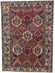 Bakhtiar Patina Matto 150X200 Itämainen Käsinsolmittu Musta/Tummanpunainen (Villa, Persia/Iran)