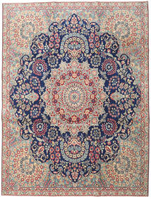 Kerman Patina Rug 230X305 Authentic  Oriental Handknotted Light Grey/Dark Beige (Wool, Persia/Iran)