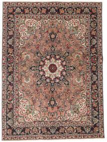 Tabriz Patina Matto 150X200 Itämainen Käsinsolmittu Tummanpunainen/Tummanharmaa (Villa, Persia/Iran)