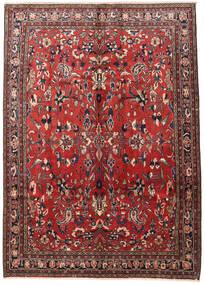 Mehraban Dywan 220X305 Orientalny Tkany Ręcznie Ciemnoczerwony/Ciemnobrązowy (Wełna, Persja/Iran)