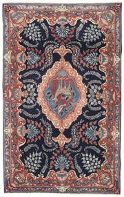 Kashmar Patina Alfombra 115X185 Oriental Hecha A Mano Púrpura Oscuro/Marrón (Lana, Persia/Irán)