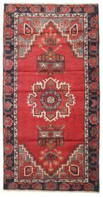 Belutsch Patina Teppich 90X170 Echter Orientalischer Handgeknüpfter Läufer Rost/Rot/Dunkelgrau/Dunkelrot (Wolle, Persien/Iran)