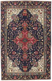Tabriz Patina Matto 125X200 Itämainen Käsinsolmittu Tummanvioletti/Tummanpunainen (Villa, Persia/Iran)