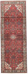 Hamadan Patina Alfombra 105X295 Oriental Hecha A Mano Rojo Oscuro/Marrón Oscuro (Lana, Persia/Irán)