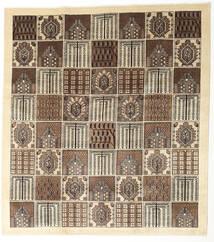 Tabriz Tæppe 240X265 Ægte Orientalsk Håndknyttet Beige/Lysegrå (Uld, Persien/Iran)