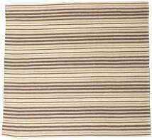 Kilim Fars Dywan 250X265 Orientalny Tkany Ręcznie Kwadratowy Beżowy/Jasnoszary Duży (Wełna, Persja/Iran)