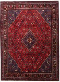 Joshaghan Tappeto 293X398 Orientale Fatto A Mano Rosso Scuro/Nero Grandi (Lana, Persia/Iran)