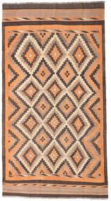 Kilim Fars Rug 186X350 Authentic  Oriental Handwoven Hallway Runner  Light Brown/Dark Red (Wool, Persia/Iran)