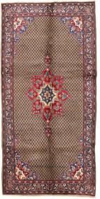 Songhor Matto 150X303 Itämainen Käsinsolmittu Käytävämatto Tummanruskea/Tummanpunainen (Villa, Persia/Iran)