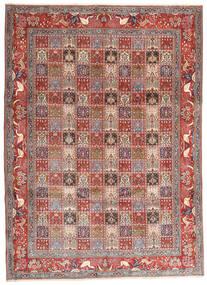 Moud Koberec 243X338 Orientální Ručně Tkaný Tmavě Červená/Béžová (Vlna/Hedvábí, Persie/Írán)