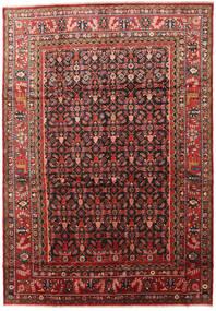 Lillian Covor 266X386 Orientale Lucrat Manual Roșu-Închis/Negru Mare (Lână, Persia/Iran)
