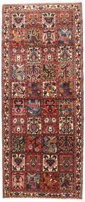 バクティアリ 絨毯 117X280 オリエンタル 手織り 廊下 カーペット 深紅色の/濃い茶色 (ウール, ペルシャ/イラン)