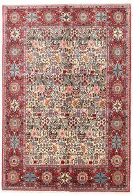 Rudbar Matto 130X190 Itämainen Käsinsolmittu Beige/Vaaleanharmaa (Villa, Persia/Iran)