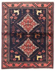 Saveh Matto 110X142 Itämainen Käsinsolmittu Musta/Tummanruskea (Villa, Persia/Iran)
