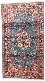 Saruk Tappeto 98X178 Orientale Fatto A Mano Rosso Scuro/Beige (Lana, Persia/Iran)