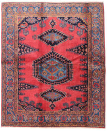 Wiss Rug 188X225 Authentic Oriental Handknotted Brown/Black (Wool, Persia/Iran)