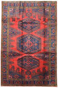 Wiss Koberec 200X305 Orientální Ručně Tkaný Tmavě Červená/Tmavošedý (Vlna, Persie/Írán)
