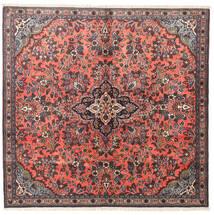 Hamadán Szőnyeg 143X150 Keleti Csomózású Szögletes Sötétbarna/Sötétpiros (Gyapjú, Perzsia/Irán)