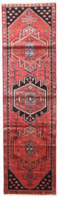 Saveh Tapis 82X292 D'orient Fait Main Tapis Couloir Rouge Foncé/Marron Foncé (Laine, Perse/Iran)