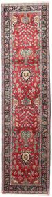 タブリーズ 絨毯 85X340 オリエンタル 手織り 廊下 カーペット 深紅色の/黒 (ウール, ペルシャ/イラン)