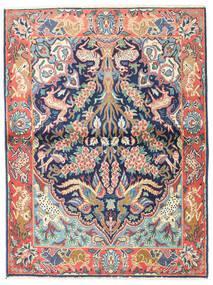 Najafabad Rug 100X133 Authentic Oriental Handknotted Dark Grey/Beige (Wool, Persia/Iran)