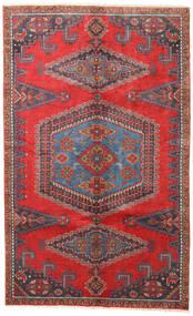 Wiss Teppe 165X265 Ekte Orientalsk Håndknyttet Mørk Rød/Mørk Grå/Rust (Ull, Persia/Iran)