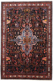 Nahavand Tappeto 277X420 Orientale Fatto A Mano Rosso Scuro/Marrone Scuro Grandi (Lana, Persia/Iran)