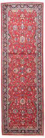 サルーク 絨毯 80X250 オリエンタル 手織り 廊下 カーペット ベージュ/錆色 (ウール, ペルシャ/イラン)