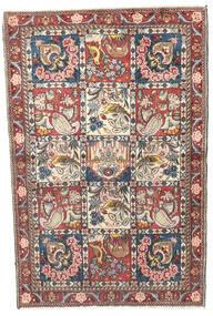 Bakhtiar Teppe 97X148 Ekte Orientalsk Håndknyttet Beige/Lys Grå (Ull, Persia/Iran)