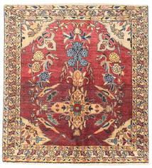 Najafabad Matto 120X132 Itämainen Käsinsolmittu (Villa, Persia/Iran)