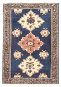 Ardabil Covor 75X108 Orientale Lucrat Manual Mov Închis/Albastru (Lână, Persia/Iran)