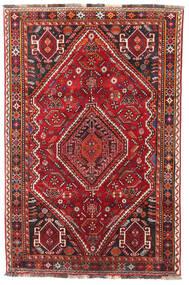 Sziraz Dywan 115X174 Orientalny Tkany Ręcznie Ciemnoczerwony/Ciemnobrązowy (Wełna, Persja/Iran)